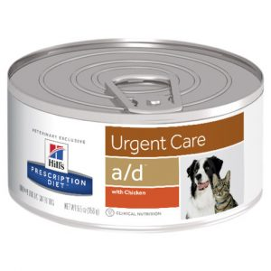 Hill's Prescription Diet a/d Urgent Care Canned Dog/Cat Food 156g Per Can Gippsland Veterinary Group