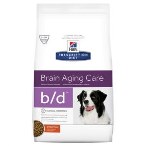 Hill's Prescription Diet b/d Brain Aging Care Dry Dog Food 7.98kg Gippsland Veterinary Group