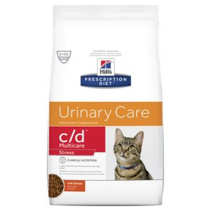 Hill's Prescription Diet c/d Multicare Stress Urinary Care Dry Cat Food 1.8kg Gippsland Veterinary Group