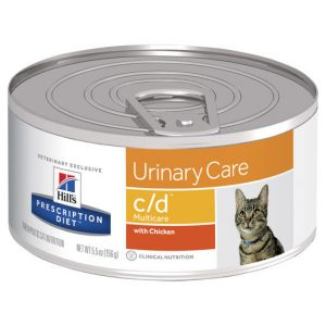 Hill's Prescription Diet c/d Multicare Urinary Care Canned Cat Food 156g Per Can Gippsland Veterinary Group