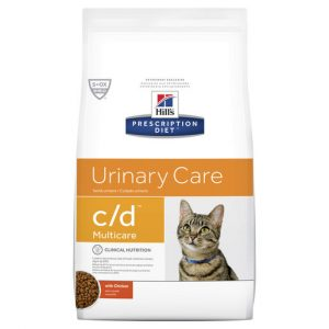Hill's Prescription Diet c/d Multicare Urinary Care Dry Cat Food 1.5kg Gippsland Veterinary Group