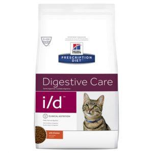 Hill's Prescription Diet i/d Digestive Care Dry Cat Food 1.8kg Gippsland Veterinary Group