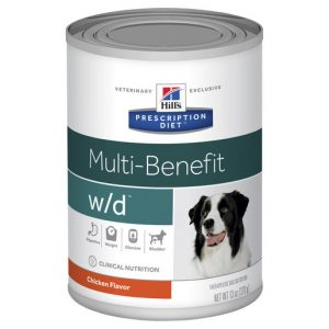 Hill's Prescription Diet w/d Multi-Benefit Canned Dog Food 370g Gippsland Veterinary Group