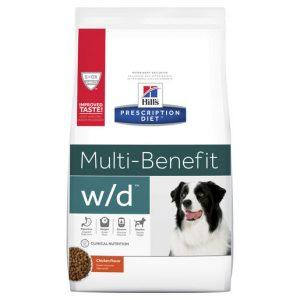 Hill's Prescription Diet w/d Multi Benefit Dry Dog Food 12.5kg Gippsland Veterinary Group