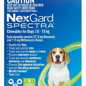 Nexgard Flea and Worm 7.6 - 15 kg One Month Gippsland Veterinary Group