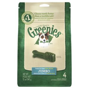 GREENIES™ Jumbo Dental Dog Treat 4 pack 340g Gippsland Veterinary Group