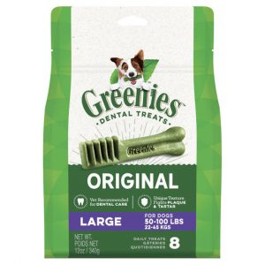 GREENIES™ Fresh Large Dental Dog Treat 8 Pack 340g Gippsland Veterinary Group