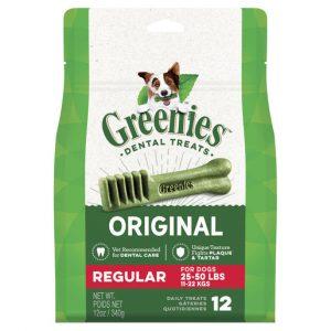 GREENIES™ Grain Free Regular Dental Dog Treat 12 pack 340g Gippsland Veterinary Group