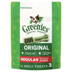 GREENIES™ Original Regular Dental Dog Treat Trial Pack 85g Gippsland Veterinary Group