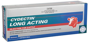 Cydectin Long Acting Injection (500 mL) for Cattle Gippsland Veterinary Group