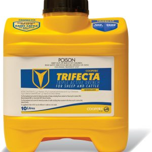 Trifecta Cattle and Sheep Oral Drench 10 L Gippsland Veterinary Group